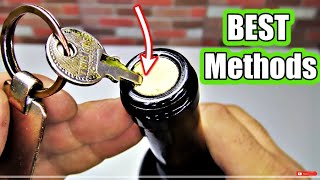 5 Ways to Open a Wine Bottle 🔴 NEW