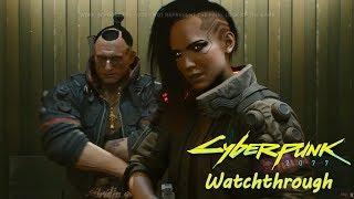 Cyberpunk 2077 - Official 48 Minute Gameplay Reveal Walkthrough Reaction