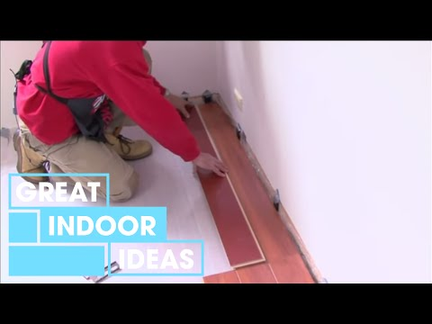 How To Lay A Floating Floor | Indoor | Great Home Ideas