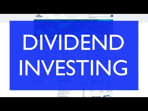 Dividend Investing - Investing Philippines