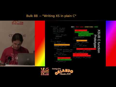 Writing XS in plain C