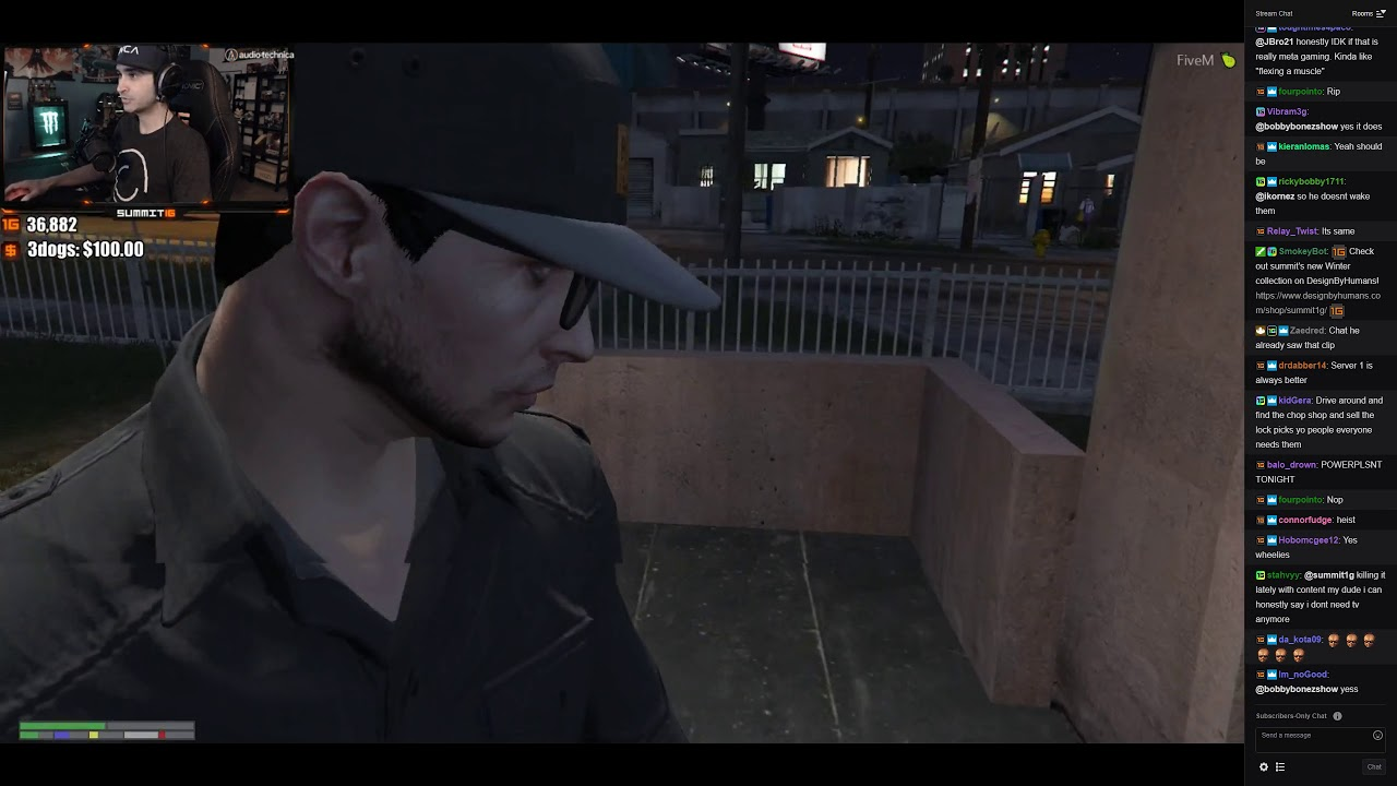 Summit1G GTA V RP FULL VOD, 9th April 2019 (w/chat)