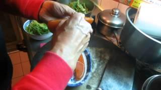 烏魚子料理 第一步驟 :去膜