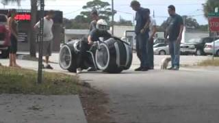 Tron Lightcycle Test Drive Parker Brothers Choppers TRON