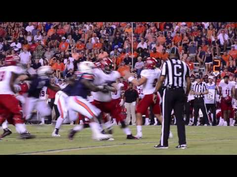 Auburn vs. Arkansas State 2016 Highlights
