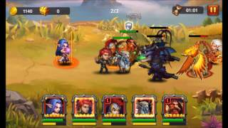 Heroes Charge: Chapter 19-5 (Boss) Fire Curse