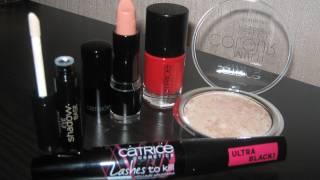 Косметика Catrice - обзор + макияж