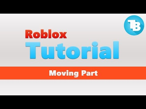 Roblox How To Move A Part Using Cframe Youtube
