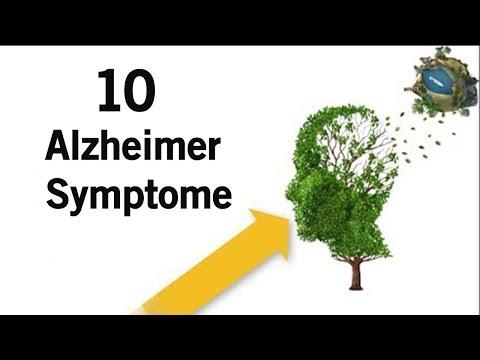 10 Alzheimer Symptome,