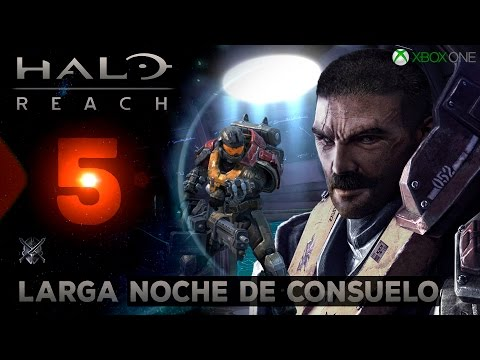 Halo Reach #5 Larga Noche de Consuelo / Gameplay Español Latino / Xbox One S / 7GHOOST