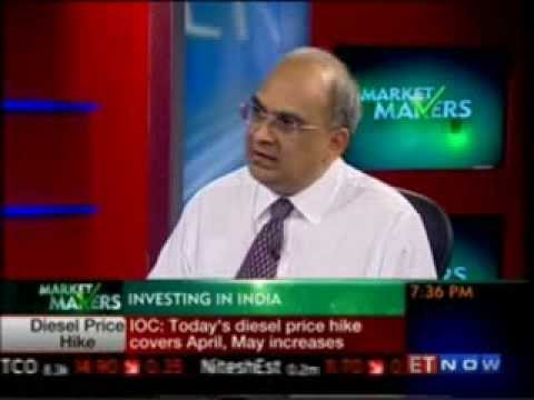 Market Makers with  Mr  Bharat Shah  ED, ASK Group on ET Now