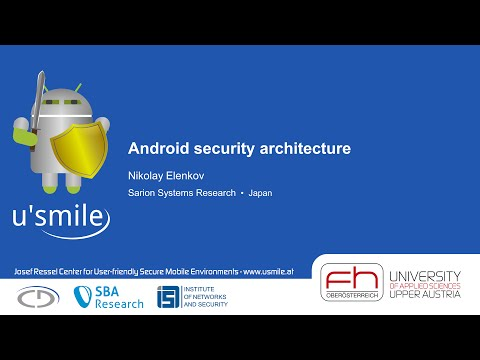 Android security architecture (by Nikolay Elenkov)