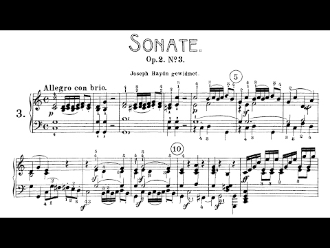 Beethoven: Sonata No.3 in C Major, Op.2 No.3 (Jumppanen, Biret)
