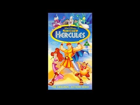 Opening to Hercules UK VHS [1998]