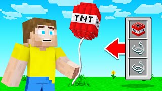 We Added NEW TROLL BALLOONS To Minecraft! (Crazy)