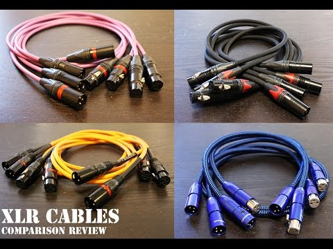 XLR Cables Comparison Review (Mogami, AudioQuest, Canare, Rockville)