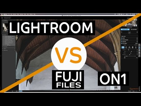 Fuji X-T2 RAW RAF file in Lightroom Vs ON1 Photo RAW