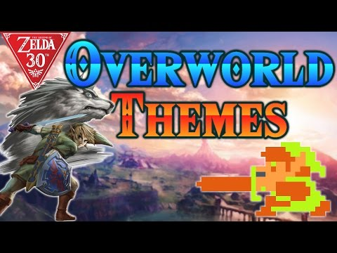 The Legend of Zelda - All Overworld Themes (1986-2016)