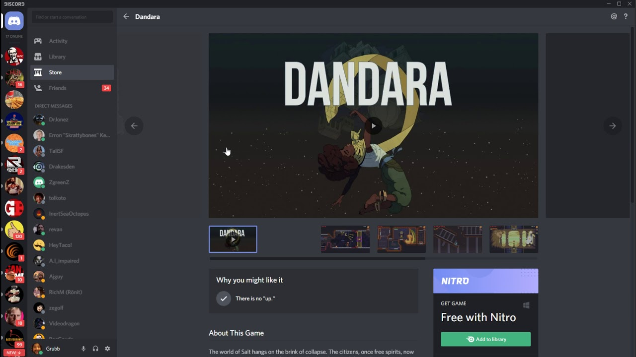 Discord's game store and subscription service launch