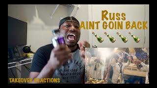Russ - AINT GOIN BACK (Official Video) REACTION