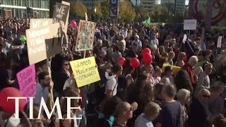 Tens Of Thousands Protest Racism And Discrimination In Berlin | TIME