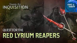Rote Lyrium Waffen freischalten / Get Red Lyrium Weapon Pack / Dragon Age ★ Kurz & Knapp Tutorial