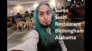 VLOG SUSHI WITH MY BOSS & COWORKERS @ SUMO JAPANESE STEAKHOUSE & SUSHI BAR BIRMINGHAM ALABAMA