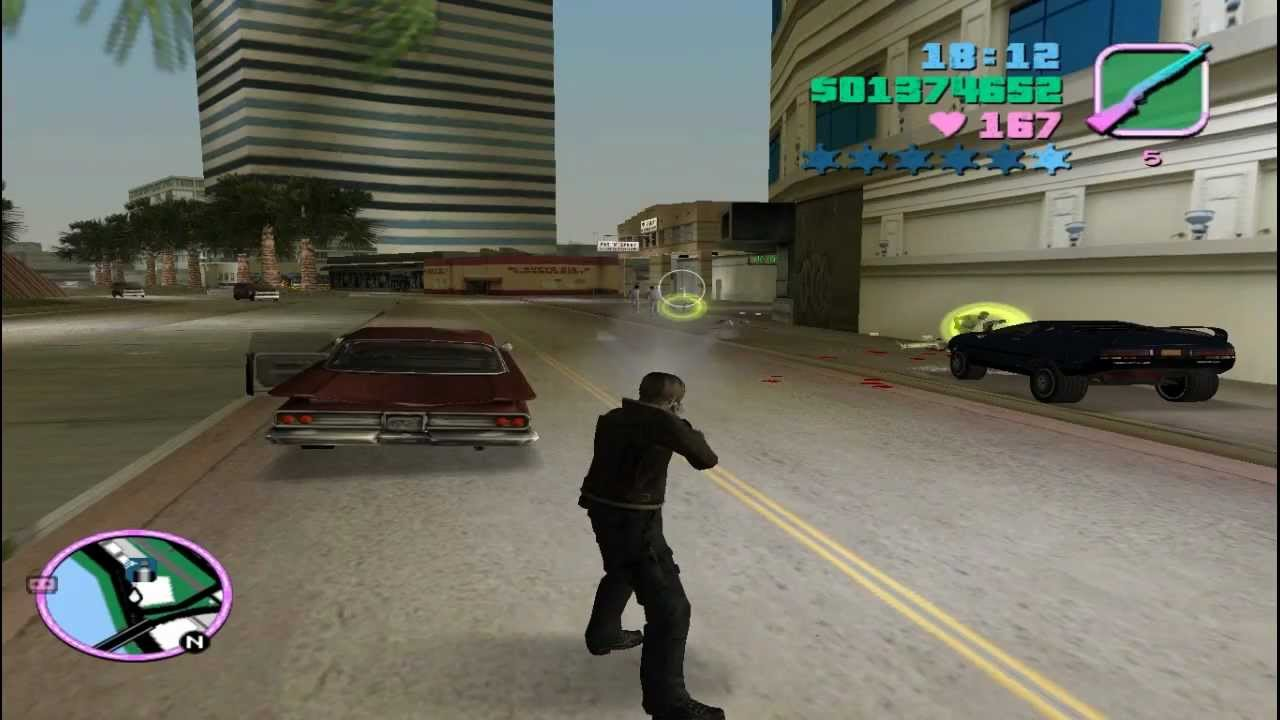 Como cambiar el personaje de gta vice city youtube for Cuarto personaje gta 5