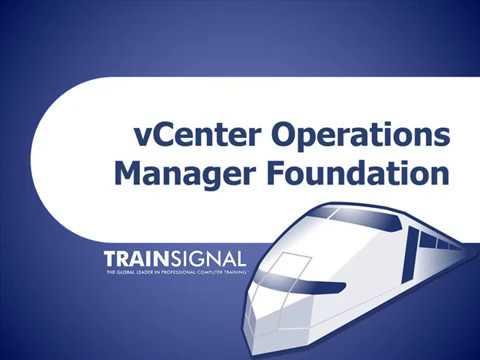 VCenter Operations Manager Foundation Lesson 6 | VMware VSphere