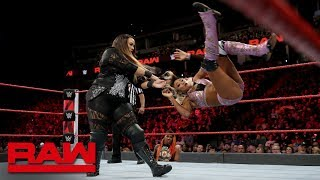Nia Jax vs. Alicia Fox: Raw, Sept. 24, 2018
