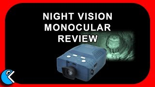 Solomark Night Vision Infrared Monocular review - Review Cruncher Technology