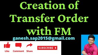 SAP WM TO Creation with Function Module by Ganesh Padala- SAP FM for Transfer Order Creation