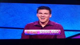 James Holzhauer Surpasses the $500,000 Mark