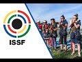 Trap Women Final 2017 ISSF Junior World Cup Shotgun in Porpetto ITA