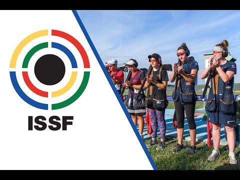 Trap Women Junior Final - 2017 ISSF Junior World Cup Shotgun in Porpetto (ITA)