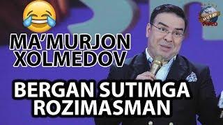 Ma`murjon Xolmedov - Bergan sutimga rozimasman