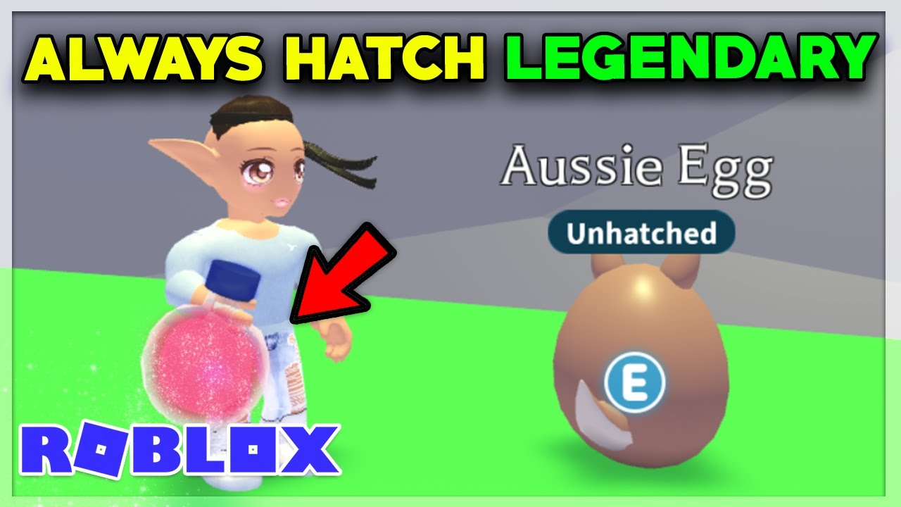 How To Always Hatch Legendary Pet Aussie Egg Adopt Me Youtube