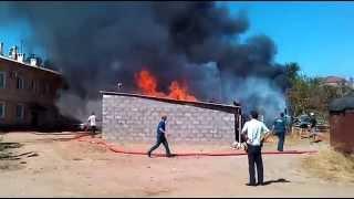 Фото Пожар. Астраханская обл п.Лиман