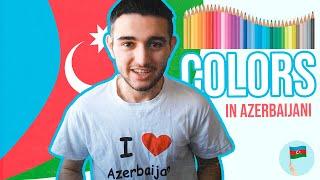 Learn Azerbaijani - Colors