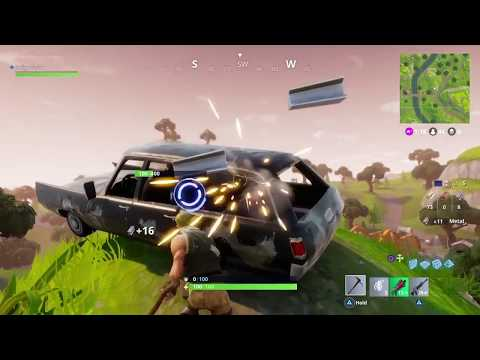 SECOND MATCH EVER PLAYED - VICTORY - FORTNITE BATTLE ROYALE