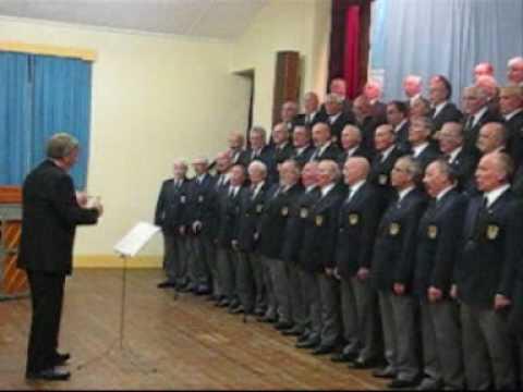Llanelli Male Voice Choir sings