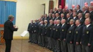 "Llanelli Male Voice Choir sings ""Morte Christe"""
