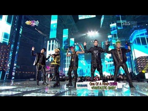 [HD] BIGBANG CRAYON & FANTASTIC BABY @ 2012 SBS 가요대전