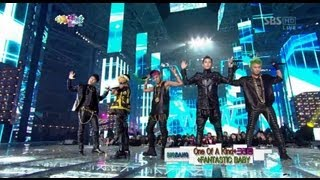 Video [HD] BIGBANG CRAYON & FANTASTIC BABY @ 2012 SBS 가요대전 download MP3, 3GP, MP4, WEBM, AVI, FLV Juli 2018