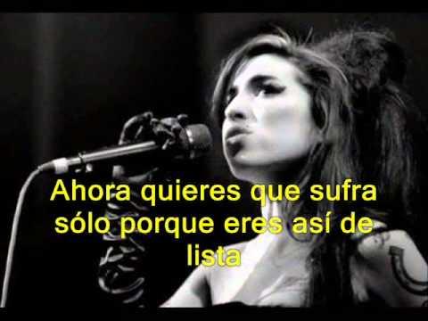 "Amy Winehouse ""Best friends"" - subtítulos en español"
