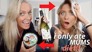 I swapped DIETS with my MUM for 24hours!!