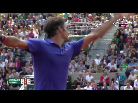 Roland Garros 2015 Roger Federer - Marcel Granollers