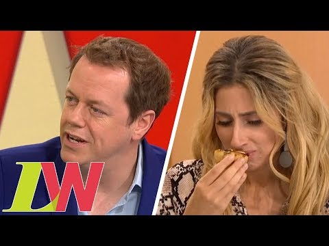 Taste Testing Christmas Food Trends With Tom Parker Bowles | Loose Women