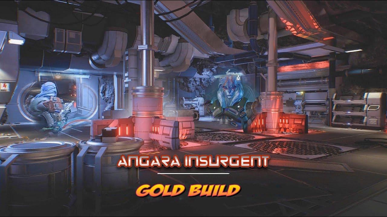 Andromeda Gold Build