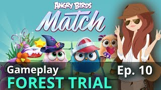 Angry Birds Match Forest Trial iOS/Android Gameplay 15 Levels: Ep 10
